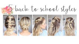 5 Easy Back-to-School Hairstyles   Cute Girls Hairstyles