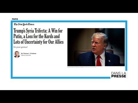 """Offensive en Syrie : """"Le triple effet Trump"""""""