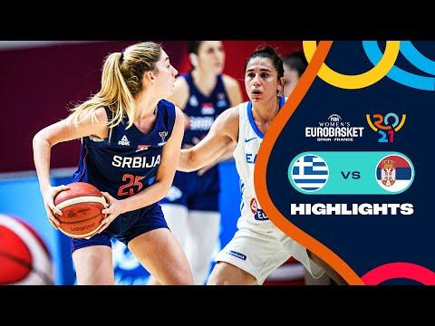 Greece Basketball Women vs Serbia Basketball Women</a> 2021-06-18