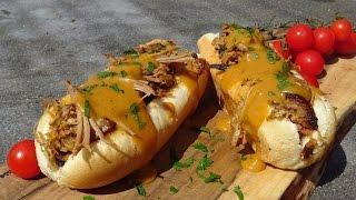 Pulled Pork Belly South Carolina Style  KuchniaKwasiora