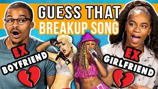 EXES Guess That BREAKUP SONG Challenge (React)