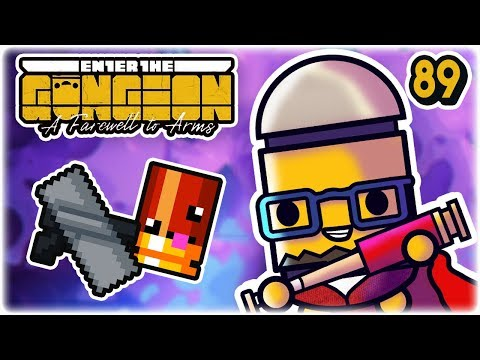 Scatterbutt | Part 89 | Let's Play: Enter the Gungeon: Farewell to Arms | PC HD