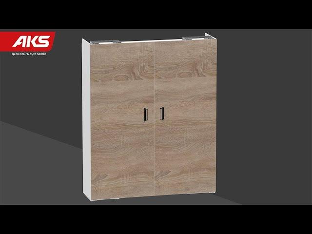 Компланарная система дверей для шкафов-купе ONE LINE