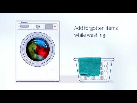 Bosch Freestanding Washing Machine WAJ28008GB - White Video 1