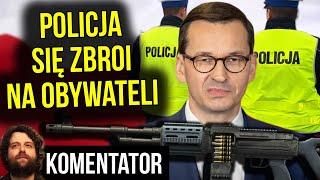 Polska Policja Zbroi się NA OBYWATELI – Czy PIS Coś Szykuje? – Analiza Komentator Pieniądze
