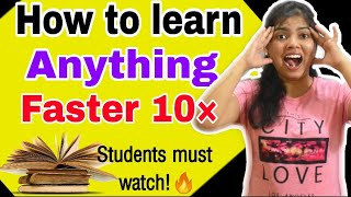 HOW TO LEARN 10 TIMES FASTER   STUDYSHIP WITH KRATI 2