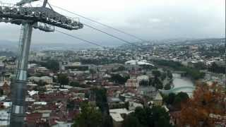 preview picture of video 'Cable car Tbilisi'