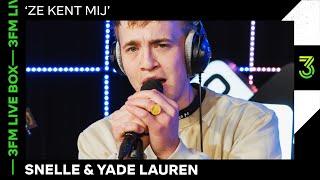 Snelle En Yade Lauren Live Met 'Ze Kent Mij' | 3FM Live | NPO 3FM