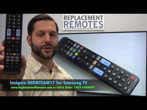 INSIGNIA NSRMTSAM17 For Samsung TV Remote Control