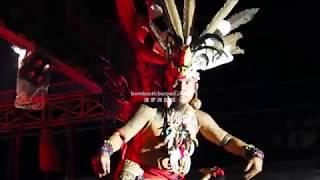 Gawai Dayak Budaya Sintang Kalimantan Barat Indonesia Trans Borneo Culture Travel 印度尼西亚西加里曼丹土著舞蹈表演