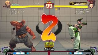 Bullcat (Gouken) Vs Jrojro (Juri) - AE 2012 Matches *1080p*