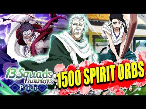 1500 SPIRIT ORBS 13 SQUADS SUMMONS Bleach Brave Souls