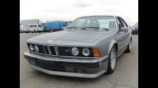 BMW 635 CSI was picked up recently. The very desirable classic BMWs are still about. Contact me