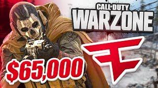 $65,000 FAZE WARZONE TOURNAMENT! - Week 2 (CoD Battle Royale)