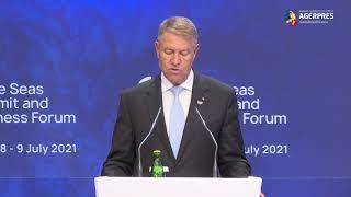 Iohannis: România rămâne ferm angajată în Iniţiativa celor Trei Mări