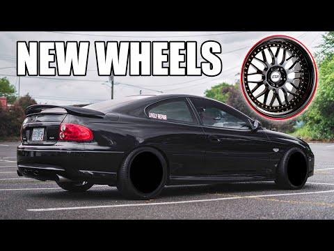 THE GTO GOT  NEW WHEELS!
