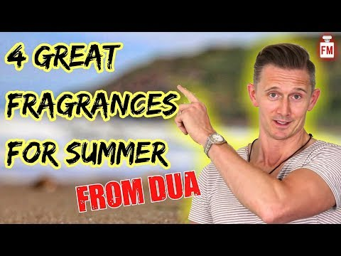 4 Summer Fragrances from DUA | Fragrance Review & Giveaway!