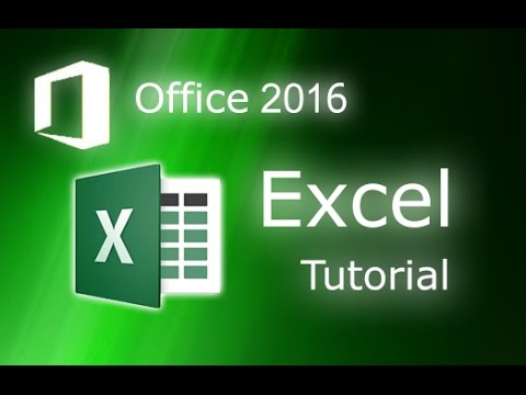 Microsoft Excel 2016 – Full Tutorial for Beginners [COMPLETE in 13 MINUTES!]*