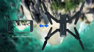 SNAPTAIN SP510 Foldable GPS FPV Drone with 2.7K Camera for Adults