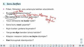 Eğitim Vadisi TYT Türkçe 17.Föy Zarflar 2 Konu Anlatım Videoları