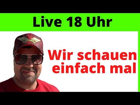 , title : 'Mein erstes Live! Wir schauen uns zusammen ein Video an!