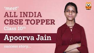 All India CBSE 10th Topper Apoorva Jain Interview - Arihant's Padhaakoo