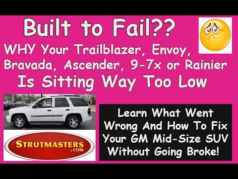 Replacing Air Suspension On Chevrolet Trailblazer 2002-2009