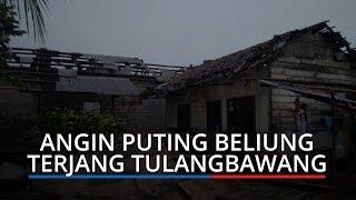 Angin Puting Beliung Terjang Tulangbawang, Atap Rumah Warga Berterbangan