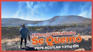 Este es un Vlog complicado, así se ve el fin de una era después que el fuego consumiera más de mil hectáreas del rancho de mi padre.  Sin embargo también marca el inicio de una nueva era en la familia Aguilar, a levantar el espíritu de entre las cenizas para un mejor mañana juntos. La esperanza, esa nadie me la quita, vamos pa'lante.  Muchas gracias a todos por su apoyo.  Escucha a Pepe Aguilar en todas las plataformas digitales: https://ONErpm.lnk.to/PepeAguilar  Escucha la playlist Hecho en México https://ONErpm.lnk.to/HechoEnMexico