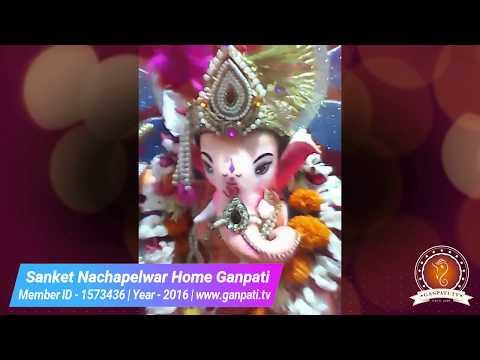 Sanket Nachapelwar Home Ganpati Decoration Video