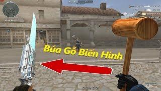 Cầm Búa Gỗ TROLL Thả Thính Biến Hình Raging-Bull VIP - Rùa Ngáo