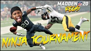This Ninja Member Is Bullying The Competition! We Need Backup! (Madden 20 Tournament)