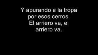 Divididos - El Arriero (Con Letra)