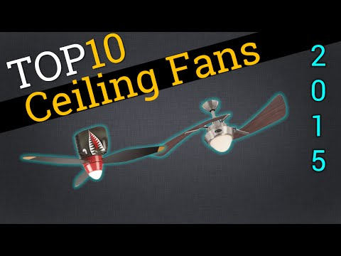 Top 10 Ceiling Fans 2015 | Compare The Best Ceiling Fans