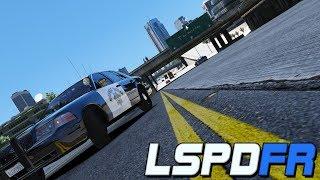 GTA V LSPDFR #7 - Murderous Cop.
