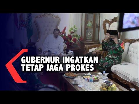 gubernur jateng ingatkan warga tetap jaga protokol kesehatan