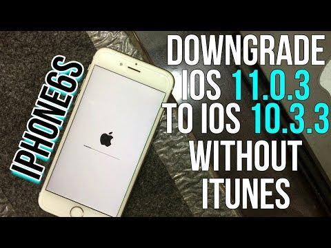 Downgrade any version of ios in 1 single click ||downgrade