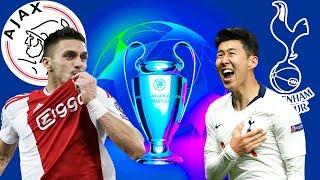 FIFA 19 อาแจ็กซ์ VS สเปอร์ส | UCL รอบ 4 ทีม นัดสอง !! ทีมใดจะผ่านเข้ารอบชิง