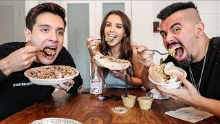 AUSTRALIAN'S FIRST TIME TRYING CHIPOTLE!! (OUR FIRST MUKBANG)