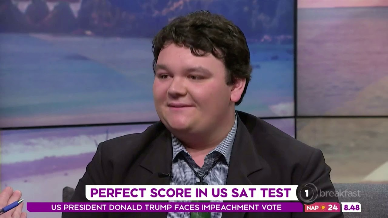 Sam Taylor Testimonial : Crimson Student, and Harvard and Yale Admit, Sam Taylor, on Breakfast TV