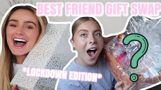 BEST FRIEND QUARANTINE GIFT BOX SWAP | Syd And Ell