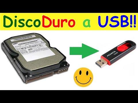 Convierte tu disco duro viejo en una memoria USB de gran capacidad!!