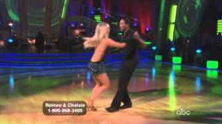 Romeo and Chelsie Dancing with the Stars wk 1