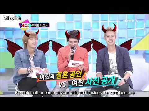 [Eng Sub] 121026 All The Kpop - Leeteuk & Shindong P1/3
