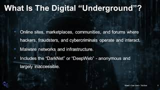 The Dark Web: A Treasure Trove of Actionable Threat Intelligence