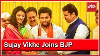 Congress Neta's Son, Sujay Vikhe Speaks To India Today On Joining BJP