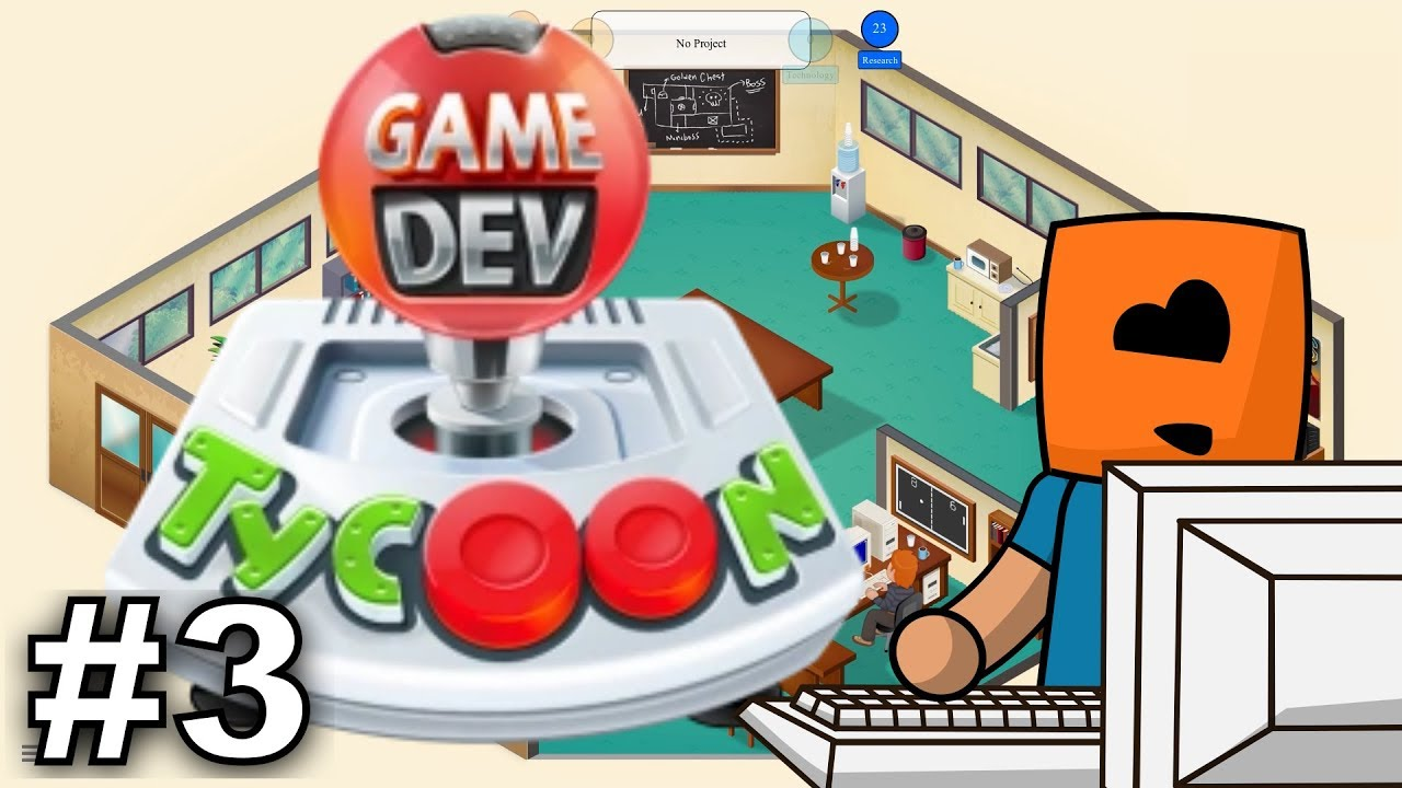 Game Dev Tycoon #3 | Office Level 2