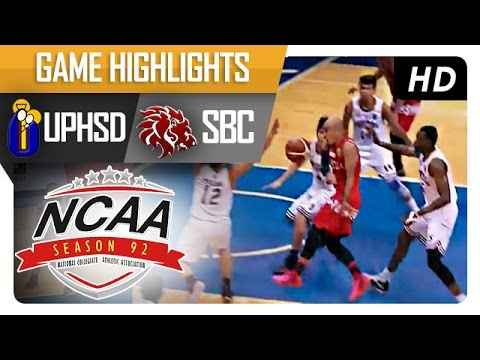 UPHSD vs SBC | Game Highlights | NCAA 92 | October 4, 2016