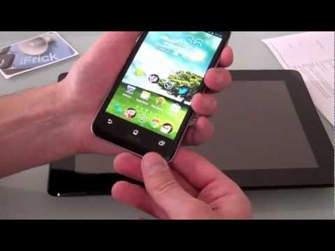 Youtube Video ASUS Padfone 2 64 GB in schwarz
