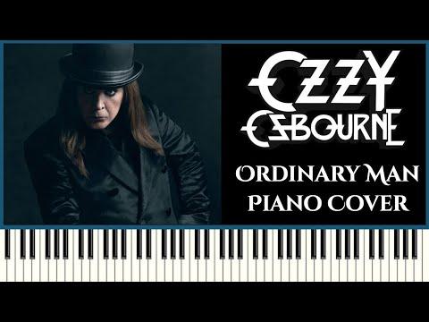 Ozzy Osbourne - Ordinary Man ft. Elton John | Piano Cover